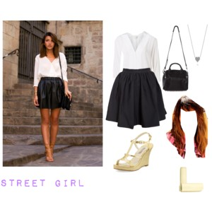 Street Girl by My Portfolio