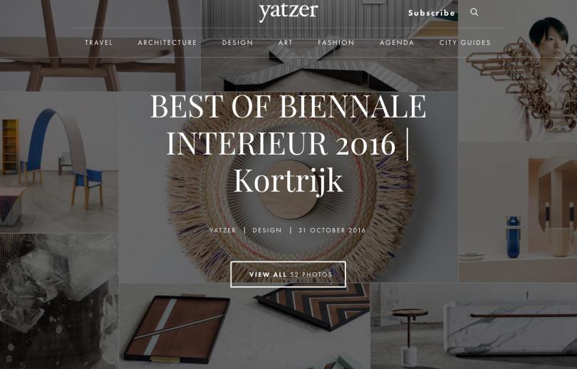 Studio baj news for Interieur kortrijk 2015