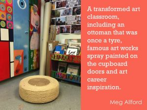Transforming ordinary objects by Meg Allford