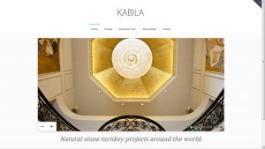 Web enhancement and redesign-Kabila Projects.com by Servicios Web Media-Spain