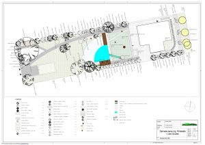 Family garden proposal/ Návrh rodinné zahrady by VLASTA CERNOCHOVA