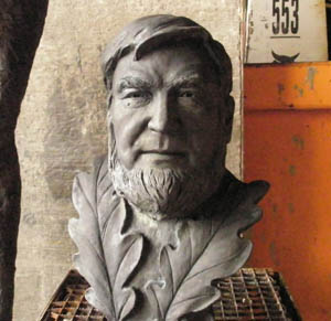 Retired politician by Yan Shufen Sculpture art