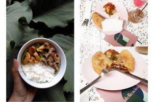 nasi ayam jamur dan pizza prita delicasies by Agustine Verdiana Portfolio