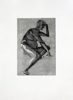 (no title) nude study by Alexandra Vinck