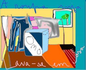 A roupa suja Lava-se em casa by Ana Johnson