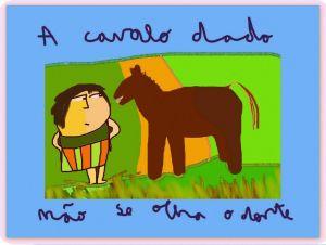 A cavalo dado não se olha o dente by Ana Johnson