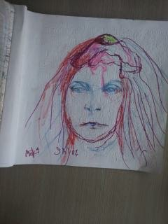 """by Art by Mike """"Snyde"""" Schneider<br/>$20 - $50 each for originals<br/>Call Mike at 619-993-1271"""