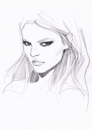 Magdalena Frackowiak by Michelle PAM.