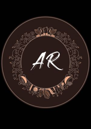 logo- AR Chocolates by My Portfolio