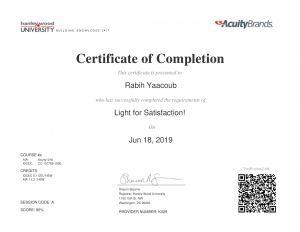 Lighting for Satisfaction by Rabih Yaacoub Portfolio