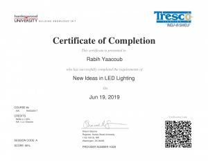 New Ideas in Led Lighting by Rabih Yaacoub Portfolio