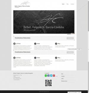 Web Design_Belbel Folgoso Garcia Cordoba.com by Servicios Web Media-Spain