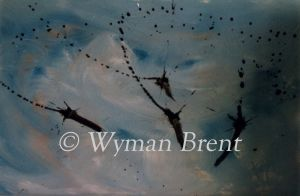 In Flight by Wyman Brent ART